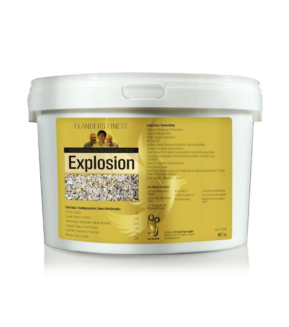 Flanders Explosion
